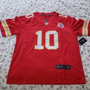NFL KC CHEIFS JERSEY, NWT, LARGE, NO. 10 HILL